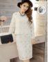 YT471 Set Bộ Ren Cotton Dệt Hoa To