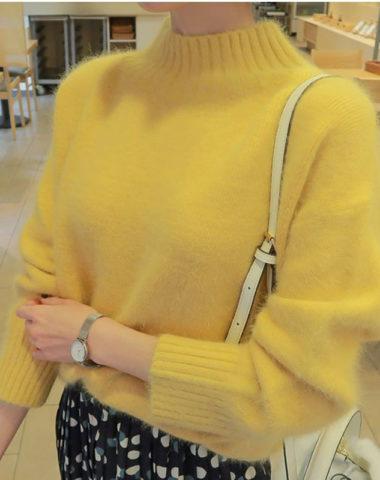 AL912 : Áo len lông dệt kim Hàn Quốc cổ cao